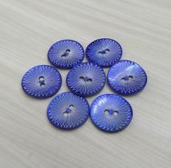 Japanese Agoya Shell Buttons with Laser Pattern
