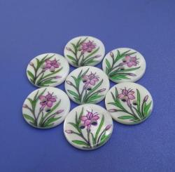 2mm Thick Printing River Buttons
