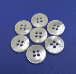 4Holes Super White Mother Of Pearl Buttons