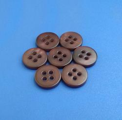 Red Wine Color Coated Natural Button for Blouse, Sweater, Suit