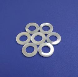 DIY Hole Ring Natural White Trocas Shell Button