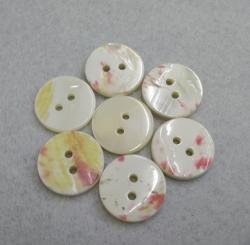 10mm 2Holes Custom Pearl Shell Shirt Button