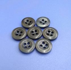 Bowl Shape Natural Pearl Shell Shirt Button 18L