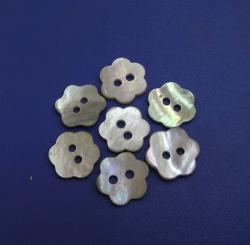 Plum Blossom Chinese Agoya Shell Button