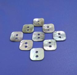 Square Two Holes China Quality Agoya Shell Button for Scrapbooking