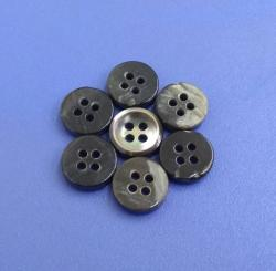 Fashion Flat Back Bowl Style MOP Pearl Buttons for Bespoke Suit Shirt Tailor