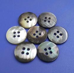 Four Holes 3mm Thickness Mixed Color Natural Mother of Pearl Shirt Buttons