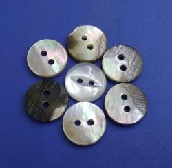 Fisheye Black Mother of Pearl Button for Sewing Clothing Factory