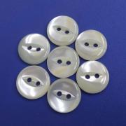 Transparent Bright Fisheye Stylish Natural Trocas Shell Buttons