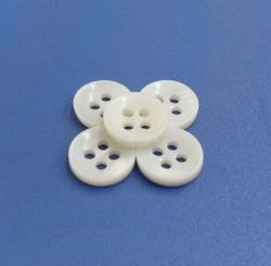 Standard 18L River Shell MOP Shirt Buttons Tailoring Material