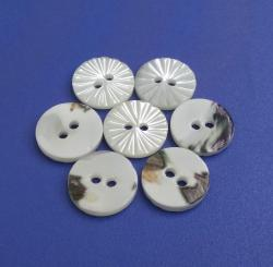 Fashion Clothing Designer Natural Trochus MOP Pearl Buttons