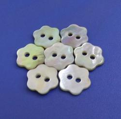 Polished Japan Quality Agoya Ornamental Buttons for Scrapbooking Crafts