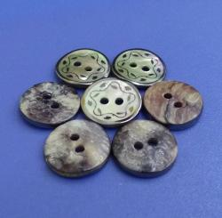 2mm Thickness Plating Japan Quality Agoya Shell Pearl Clothing Sewing Buttons
